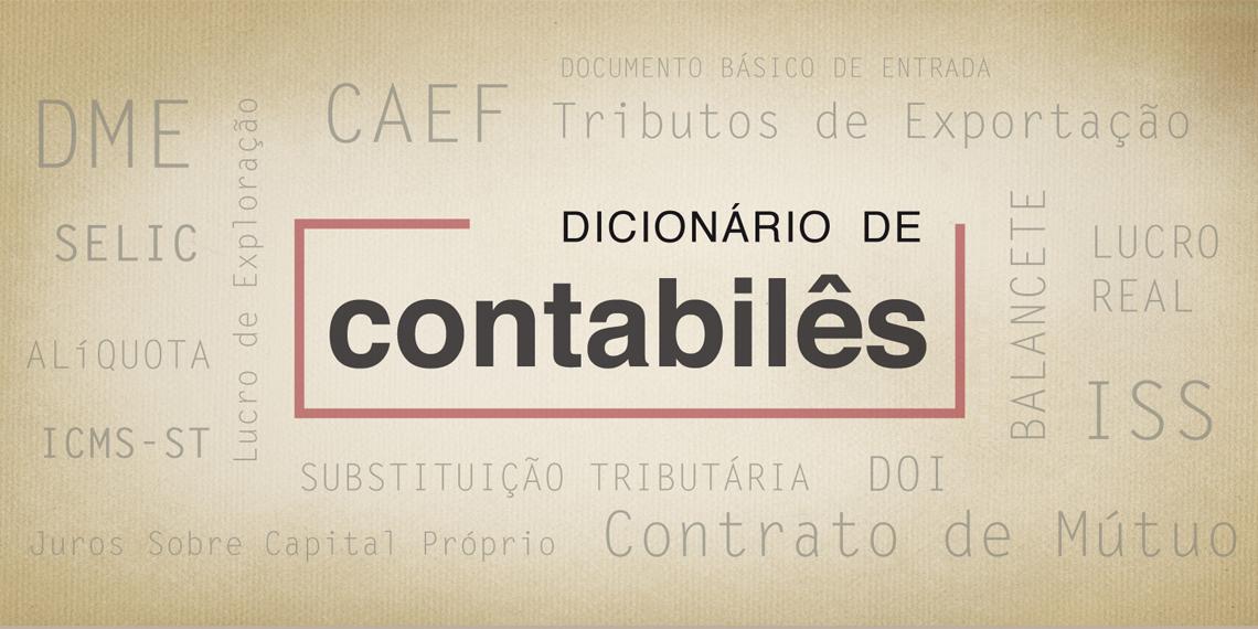 Dicionário de Contabilês: CNAE