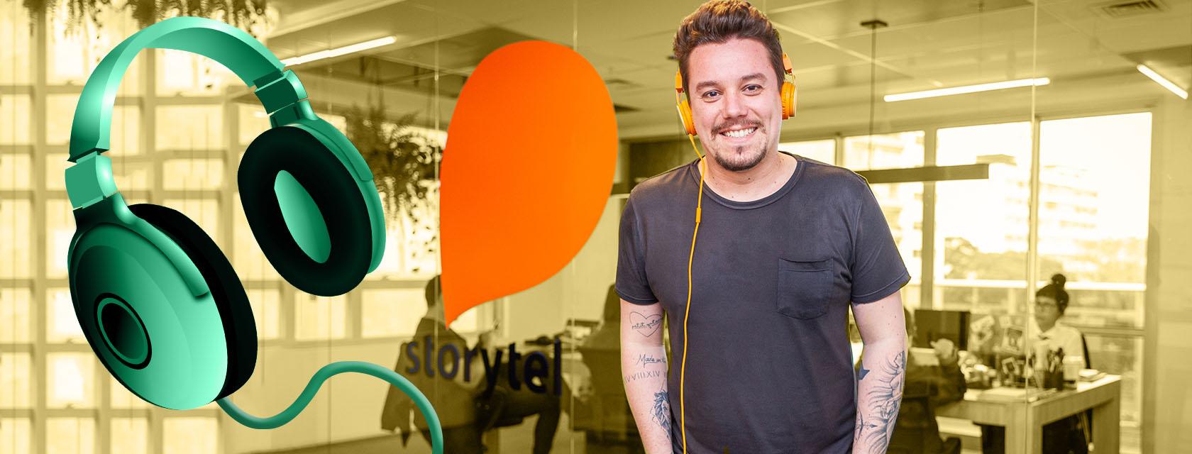 AUDIOLIVROS: Dona de um acervo de 300 mil títulos, sueca Storytel chega ao Brasil