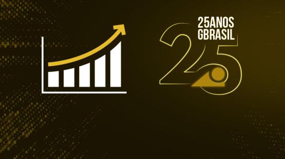 Avanço do GBrasil nos últimos 25 anos acompanha evolução do mercado empresarial